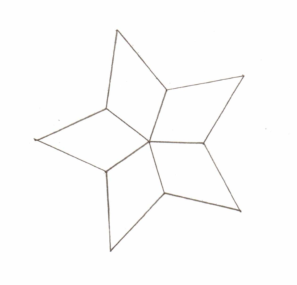 Point Star Pattern